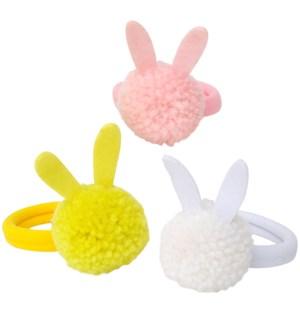 Bunny Pom Pom Hairbands-45-4354