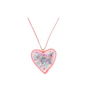 Heart Shaker Necklace-45-4361