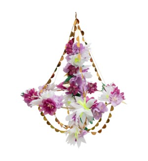 Lilac Blossom Chandelier-45-4371