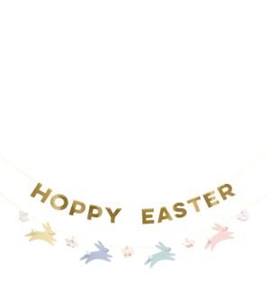 Pastel Hoppy Bunny Garland-45-4376