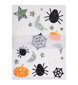 Glitter Halloween Sticker Sheets