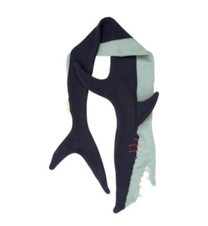 Knitted Shark Scarf