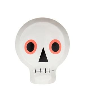 Neon Skull Plate