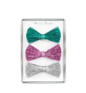 Twinkle Bow Hair Clips