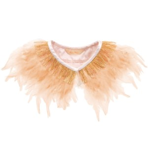 Peach Feather Collar