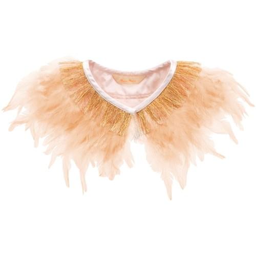 Peach Feather Collar