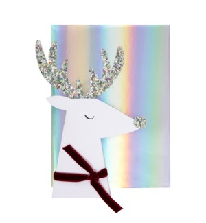 Reindeer Head Card