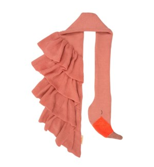 Knitted Flamingo Scarf