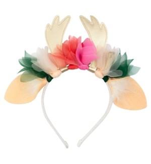 Floral Deer Headband