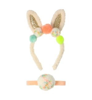 Pompom Bunny Ear Dress Up Kit