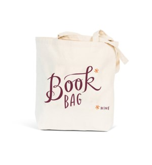 TB101-Book* (Wine) Tote Bag