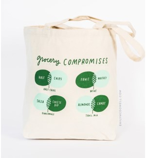 TB111-Grocery Compromises Tote Bag