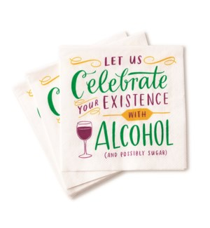 CN002-Celebrate Your Existence Napkins