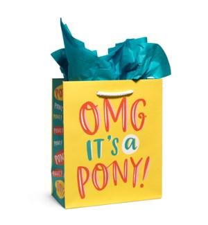GB107-OMG Pony Gift Bag