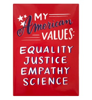 MA110-American Values Magnet