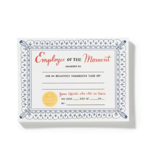 NP107-Employee of the Moment Notepad