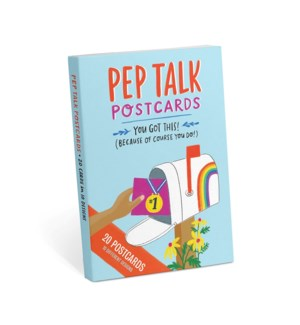 Postcards: Pep Talk