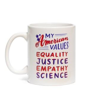 Mug: American Values