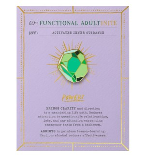 Gem Card: Functional Adult