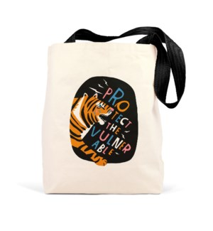 Tote Bag: Protect Vulnerable