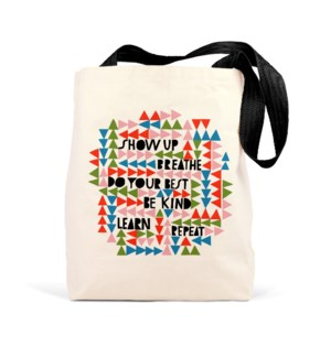 Tote Bag: Show Up Breathe
