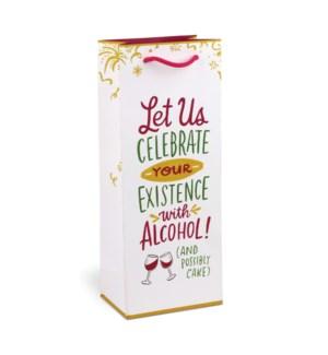 Wine Bag: Celebrate w/ Alcohol