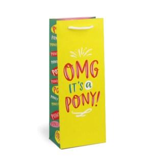 Wine Bag: OMG Pony