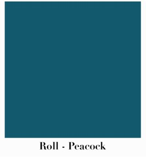 "Roll Peacock 10' X 30"""