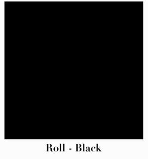 """Roll Black 10' X 30"""""""