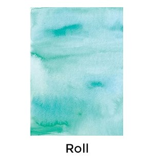 Aqua Watercolor - 2 Sheets/Roll