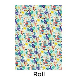 Tropical Birds - 2 Sheets/Roll