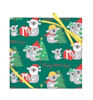 Happy Koala-Days Wrap - 2 Sheets / Roll