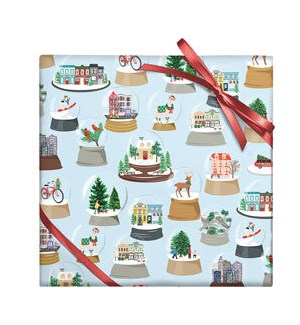 Snow Globes - 2 Sheets/Roll