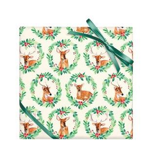 Reindeer Wreath - 2 Sheets/Roll