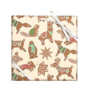Gingerbread Critters - 2 Sheets/Roll