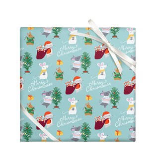 Merry Chrismouse - 2 Sheets/Roll