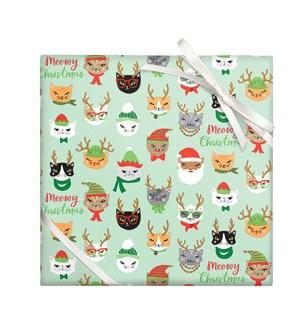 Meowy Christmas - 2 Sheets/Roll