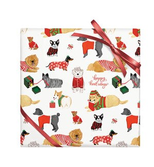 Happy Howlidays Dogs - 2 Sheets/Roll