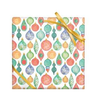 Watercolor Ornaments - 2 Sheets/Roll