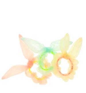 Bunny Ear Hair Scrunchies