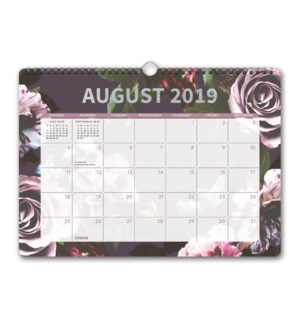 2020 Floral Expressions Deluxe Wall Calendar