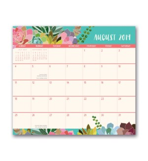 2020 Succulent Paradise Magnetic Monthly Pad