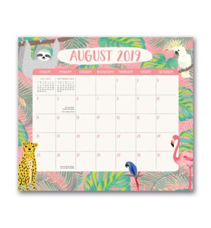 2020 Jungle Life Magnetic Monthly Pad