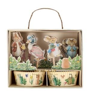 Peter Rabbit & Friends Cupcake Kit