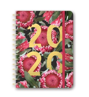 2020 Floral Expressions Deluxe Compact Flexi Planner