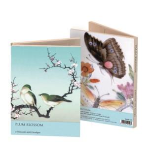 Plum Blossom & Butterfly Wallet  204307