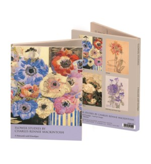 Flower Studies Mackintosh Wallet  215594