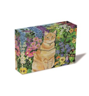 Gordon'S Cat  Notecard Box