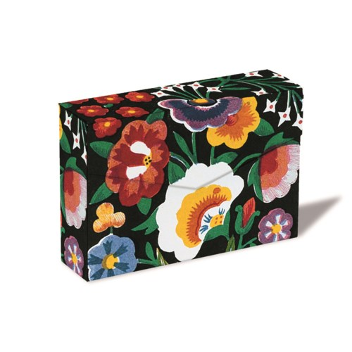 Indian Blossom Notecard Box