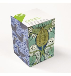 Voysey Mini Notecard Cube  248455